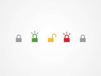 Lock1 lock unlock icon authentication validation storytelling process