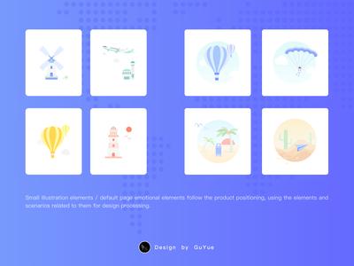 Emotional elements of default pages