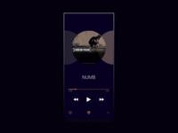 Daily Ui 009 / Music Player
