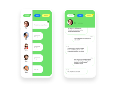 Daily Ui 013 / Direct messaging