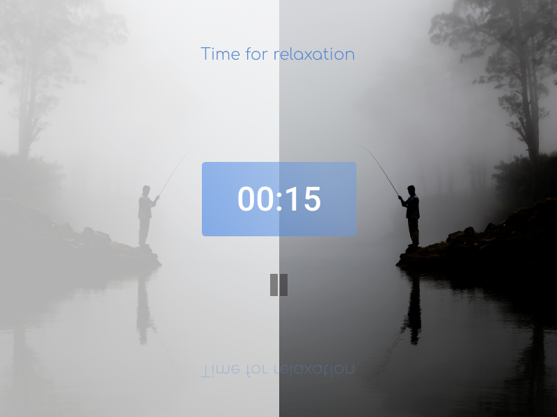 Daily Ui 014 / Countdown Timer daily ui 014 relax timer ui dailyui daily 100 visual design daily challange dailui