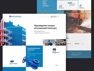 Industrial website minimal clean engeeniring industrial industry manufacture factory enterprise web design ux ui website