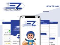 Ez Korier UI/UX design