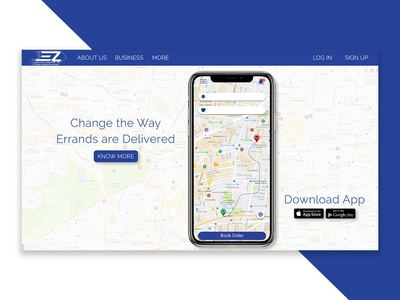 Ez Website Landing Page