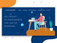Venlancer Landing Page