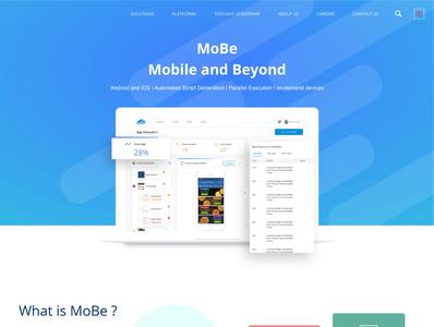 MoBe Landing Page