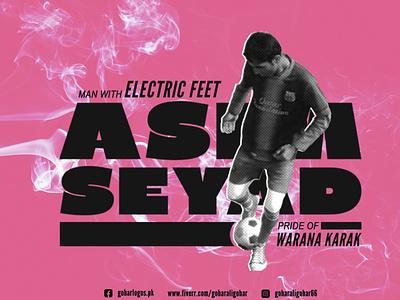 Asim Seyad Poster logodesign branding brand identity logo cricket poster wallpaper design graphic design poster design sports poster