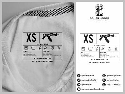 All Work Tag Design hangtag label design labeldesign shirt tag shirts tag design tags tag brand identity logo branding identity