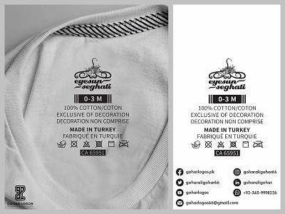 Eyesuns Seghati Tag Design hangtag labeldesign tag design labels label neck label tagging tagline tags tag