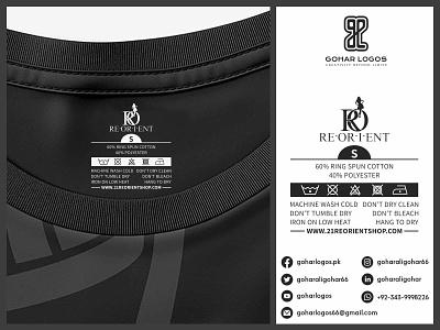 ReOrient Tag Design labels label tag design tagline tags tag