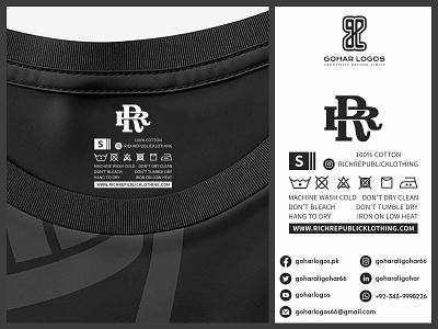 Rich Republic Klothing Tag Presentation labeldesign labels label hangtags hang tag hanger hangtag tag design tagline tags tag