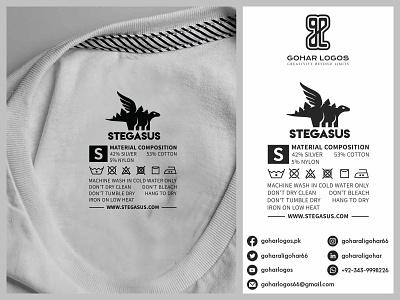 Stegasus Tag Design label design labeldesign labels label tag design tagline tags tag