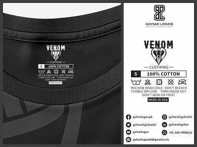 VENOM TAG PRESENTATION tag design hangtag hanger label packaging label design labels labeldesign label tags tag