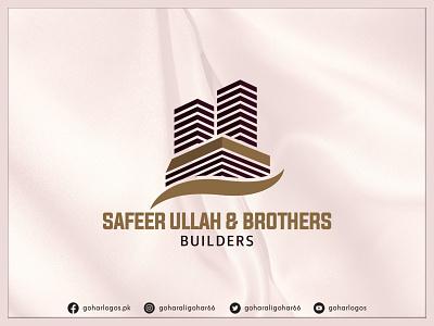 Safeer Ullah & Brothers Logo logodesign branding identity graphic design logo realestate
