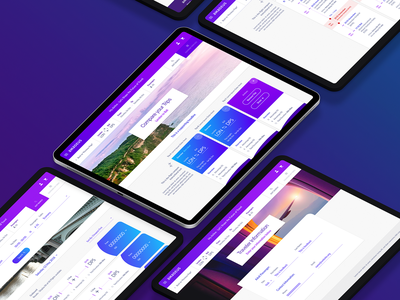 Flight Compare UI interface compare travel airline application web ux ui branding design