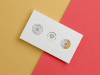 UV Icon Badges id symbol mark icon badge illustration typography branding design