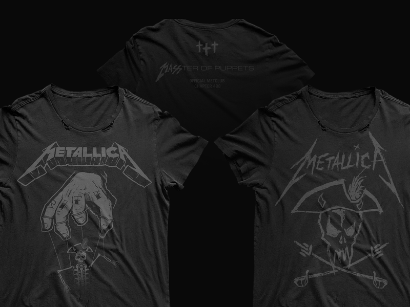 Boston MetClub Shirt Designs sketch logo tshirt metallica metal rock typography scratch illustration branding design