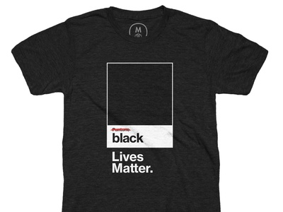 The Color that Matters. blm blacklivesmatter designforchange antiracism supporters issues apparel campaign support identity typography branding design