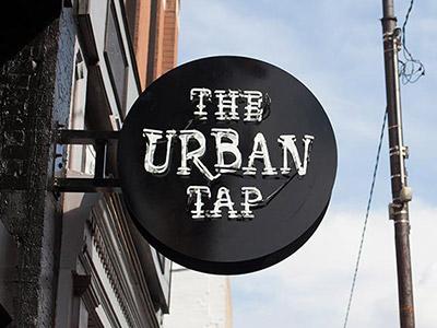 Urban tap sign 02