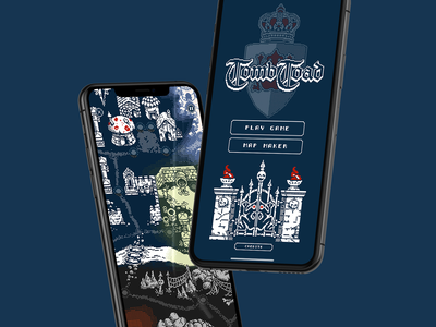 Tomb Toad - App Store Release toad tomb game app mobile ux identity ui logo typography branding design