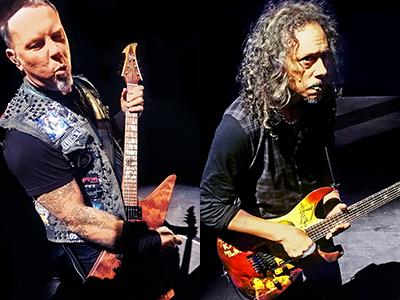 Hetfield + Hammett