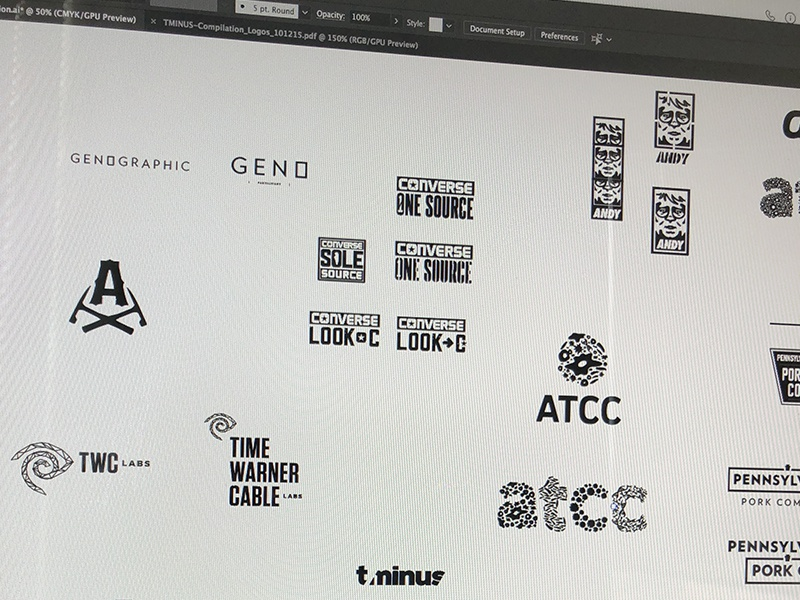 Rejected Show - Logo Archive logotypes marks wordmark typography branding illustration identities design logo
