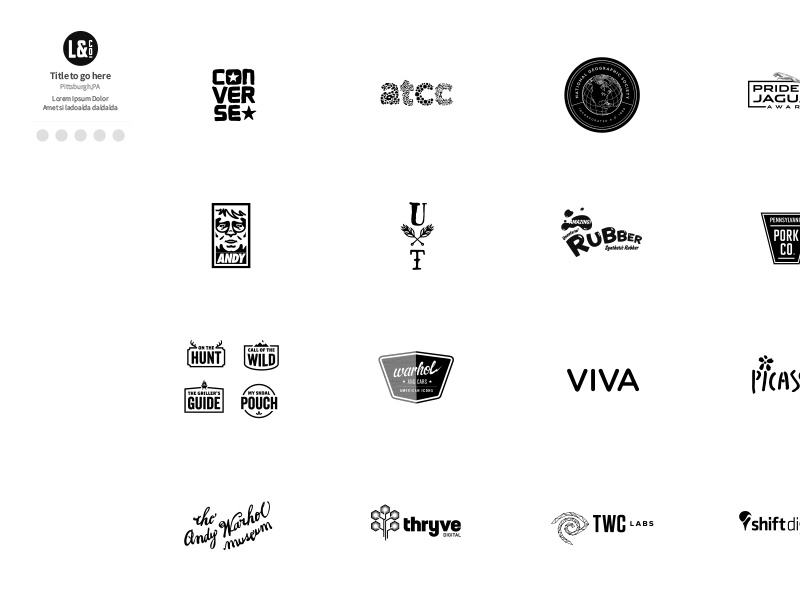 Logo Book (Concept) web ui  ux ui logo graphic design identity typographic design illustration typography design branding