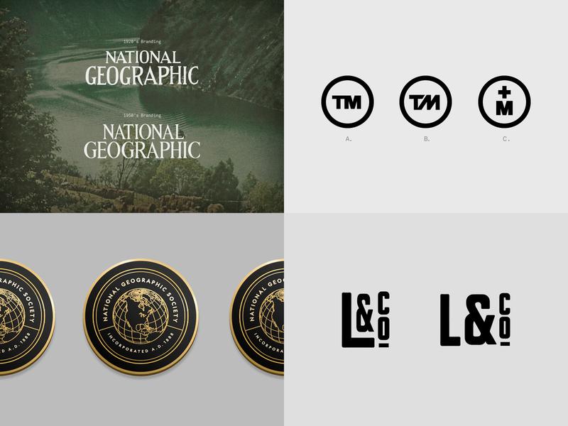 My Top 4 from 2018 icon illustration identity web typography branding logo design