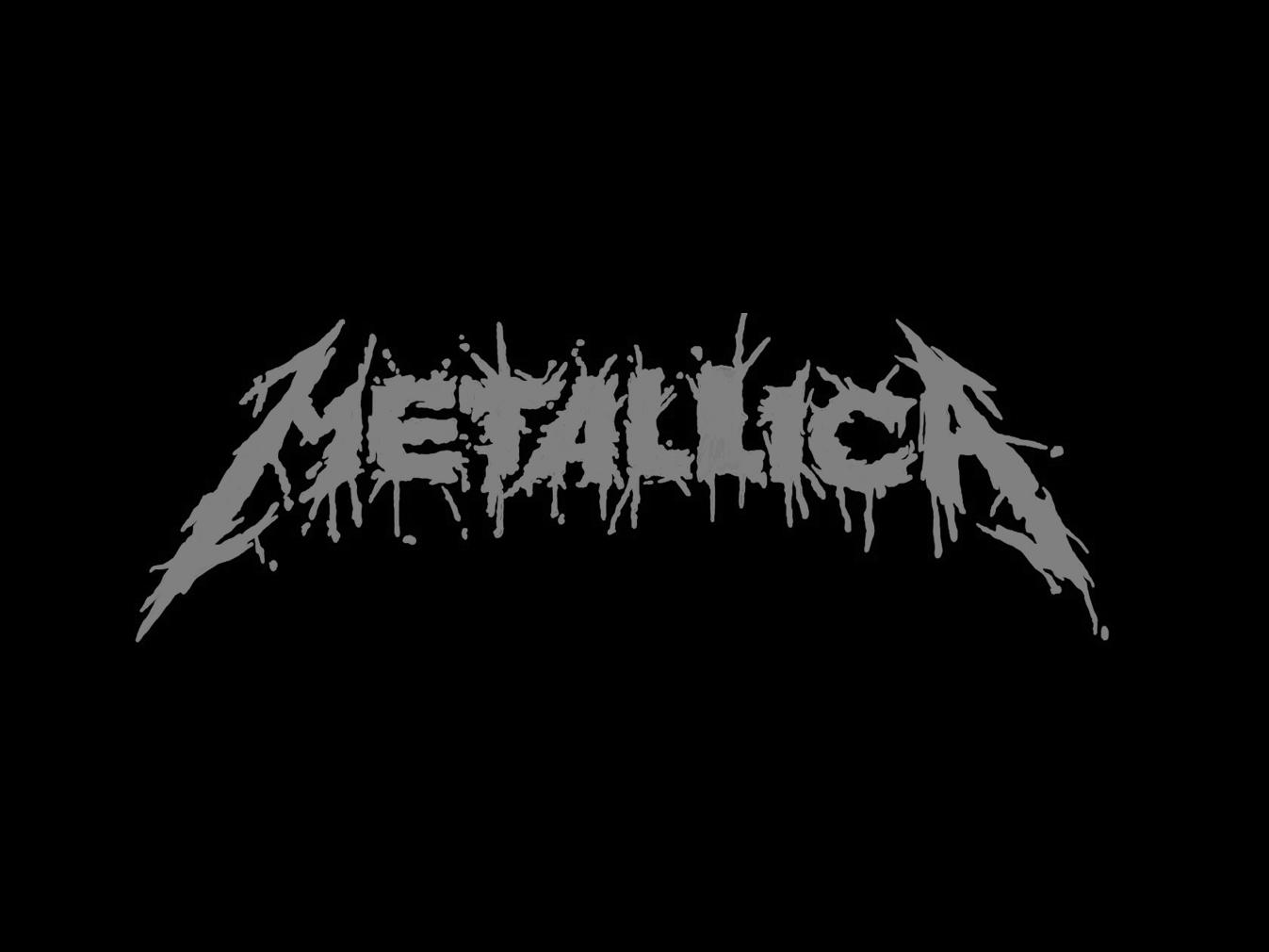 Metallica Logo (Spatter) metallica metal ipad procreate lettering identity brand design type typography logo