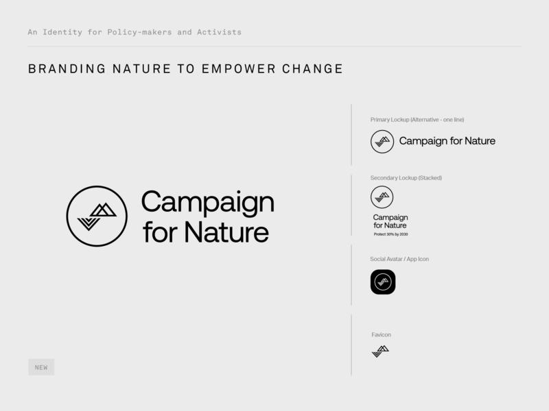 Branding Nature campaign nature symbol icon type identity typography branding logo design