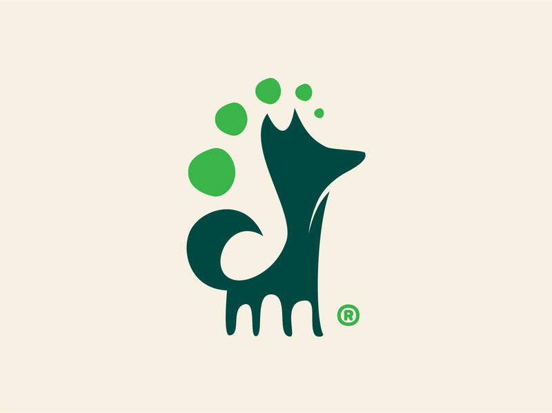 Branding - InVet - Integrative Veterinary Medicine medecine vet veterinary logo design logodesign logotype animals animal dog vector clean logo idendity design branding brand