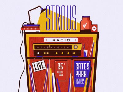 Straus Radio Cocert Poster