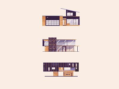 Flatlay Custom House Icons illustrator classic vector symbol mark illustration