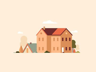 Something For October minimalist urban simple october cozy symbol vector illustrator
