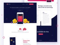 Wordguru Landing Page