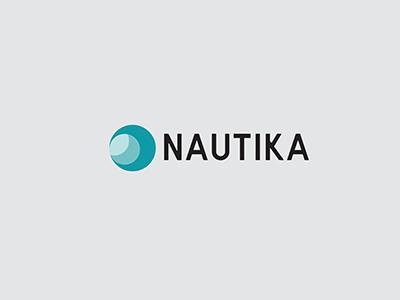 Nautika - Logo wave sea ocean concept branding logo design logo