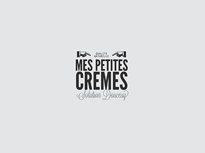 Mes Petites Cremes - Logo cosmetics concept branding logo design logo