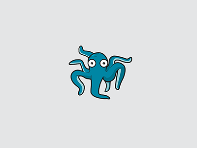 Octopus - Logo/Illustration logo octopus animals vector illustration illustrator illustration