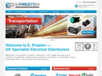 Website for electrical company