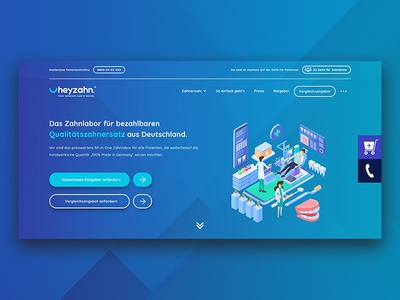 Landing Page Design - Hero Section
