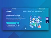 Landing Page Design - Hero Section