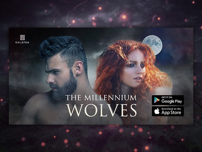 The Millennium Wolves - Facebook Ad Banner