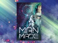 Man Made - Sci-Fi Book Cover Design