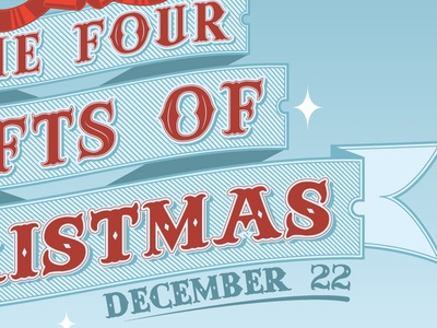 The Four Gifts of Christmas by SYNC - Dribbble