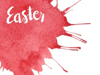 Easter watercolor