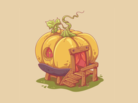 Pumpkin paradise. 🍃🎃