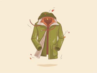 Cozy fall coat !
