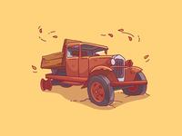 Ol' truck.
