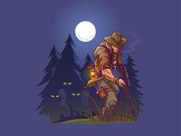 Haunted hunting !