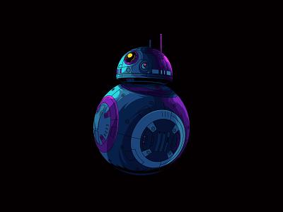 BB-8 ! starwars fanart fanart jedi last jedi astromech droid the force awakens droid bb8 starwars
